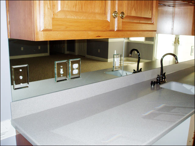 kitchen backsplash wall mirrors
