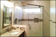 custom glass shower enclosures va