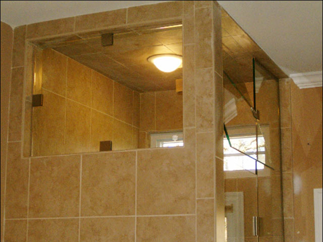 custom steam shower glass enclosure williamsburg
