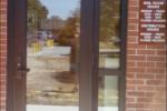 specialty blast resistant glass doors