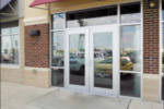 franchise storefront glass door repair